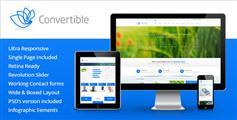 Convertible - 响应式HTML模板ios7风格大气企业官网HTML5框架模板