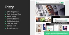 Trizzy - 多用途电子商务HTML模板 商城模板