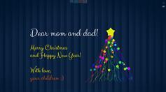 jquery制作圣诞节电子贺卡带音乐 - Merry Christmas e-Card