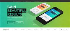 响应式全屏科技公司HTML模板_HTML5漂亮企业官网模板 - Alight