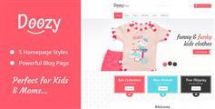 Doozy - 儿童服饰商城模板 幼儿园网站模板