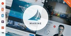 科技范响应式多功能HTML5和CSS3网站模板Bootstrap高端企业模板 - Marine