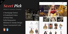 Sweet Pick | 优雅的电子商务商城Html模板