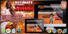 Ultimate Swish - 投篮体育HTML游戏 微信篮球小游戏