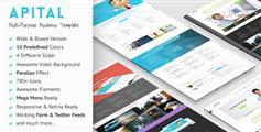 Apital多用途HTML5网站模板