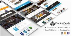Book Guide - 網上書店HTML模板 圖書商城模板