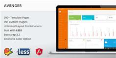 Avenger - Bootstrap3管理模板 HTML5后台主题