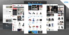 Matalo - 适用手机端HTML5商城模板 BootStrap服装商城HTML