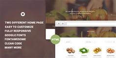 VITAL - 农产品电子商务HTML模板