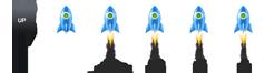 jQuery火箭图标返回顶部