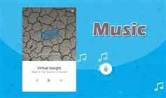 仿Shazam音乐网站的按钮变形为音乐播放器动画效果
