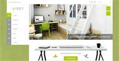 Wisey - 绿色风格HTML5模板 响应企业网站模板