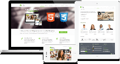 HTML5模板,基于bootstrap v3.3.21 - UNIFY