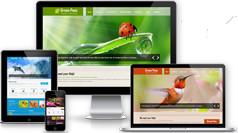 Green Theme - 环保项目或绿色产品业务Bootstrap模板