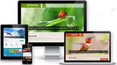 Green Theme - 環保項目或綠色產品業務Bootstrap模板
