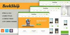 Bookshop - 网上书店HTML模板|手机版网上书城