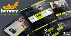 Hermes - 健身俱乐部响应式网站模板