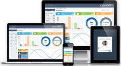 Cascade - 蓝灰色扁平响应设计Bootstrap管理模板