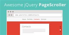 非常棒的jQuery页面滚动+导航固定顶部插件