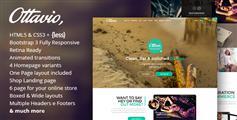 Ottavio - 多功能HTML5 Bootstrap模板