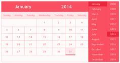 tgl.js - 简单漂亮的多种颜色日历插件|时间选择插件