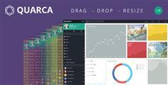 Quarca - 9种风格Bootstrap管理模板 HTML后台模板