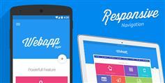 Web App - 响应超级菜单 手机菜单 20种配色方案