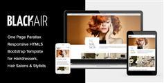 Blackair - 美容美发网站HTML5模板 美发沙龙响应模板