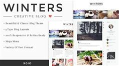 Winters - 个人博客HTML模板响应设计 HTML5/CSS3