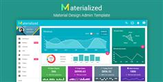 Materialize - Material设计后台模板HTML后台系统框架