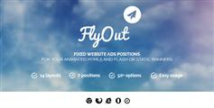 FlyOut - 网站广告插件 网站Banner jquery顶部广告带关闭