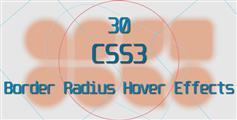 30种悬浮到图片或其他元素边框变形动画效果CSS3动画