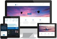 HTML5响应式企业网站模板源码 简介大气企业模板