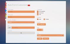 超级漂亮的美化表单插件 下拉框 复选框 多种风格