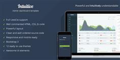 Intuitive - 精美的Bootstrap管理后台模板