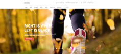 HTML5运动鞋销售网站模板