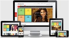 Amaze - 响应电商商城网站HTML5模板 10套布局风格