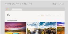 Airy - 简单的摄影图片HTML模板