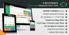 Vendroid - 超级灵活的html5后台模板