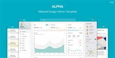 Web应用程序管理模板UI框架_HTML5后台模板 - Alpha