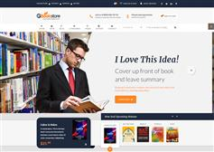 网上书店HTML模板_Bootstrap网上书城电商HTML5模板 - BookStore