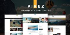 6种主页响应博客HTML模板_Bootstrap响应博客模板 - PIREZ