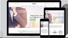 漂亮大气响应式HTML5模板通用Bootstrap网站框架源码UI设计 - Morello
