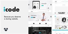 icode - 经典HTML5中小型企业网站模板_兼容手机企业模板HTML