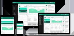 Helsinki - 高端Bootstrap管理模板4种风格兼容手机端HTML5后台