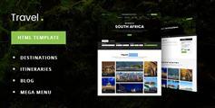 旅游酒店预订电商HTML模板_旅行社在线下单HTML5模板 - TravelDot