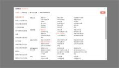 jquery点击输入框弹出职位选择div层进行选择职位插件