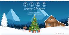 Christmas响应式CSS3动画有创意的圣诞节主题模板HTML5兼容移动端