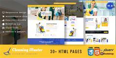 Clening Master - 家政公司网站HTML5模板Bootstrap电商家政保洁公司Css3模板