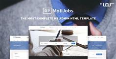 HR人力资源管理系统模板Bootstrap人力管理系统框架 - Motijobs